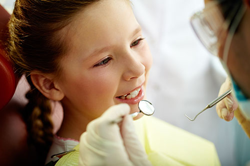 Young Girl - Pediatric Dentist in Brownsville, Tx